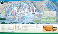 Boyne Highlands Resort trail map