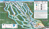 Sandia Peak Ski Area trail map