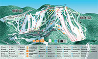 Seven Springs Mountain Resort trail map