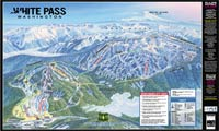 White Pass Ski Area trail map