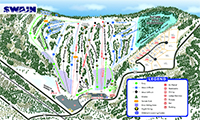 Swain Resort trail map